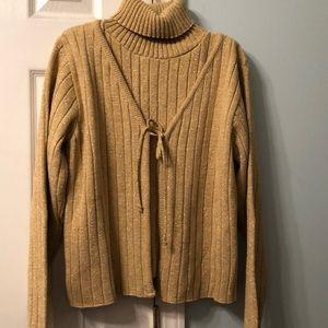 Fashion Bug 2-Piece Gold Sweater Set
